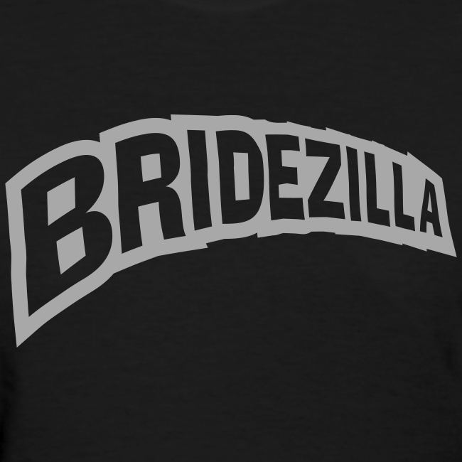 Bridezilla Silver Glitter Shirt