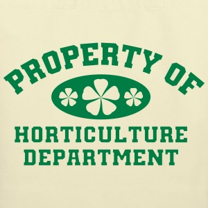 Property Of Horticulture Department - Eco-Friendly Cotton Tote