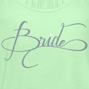 team bride - Women's Flowy Tank Top by Bella