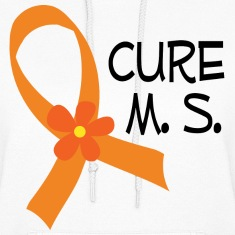 Cure M.S. Awareness Hoodies