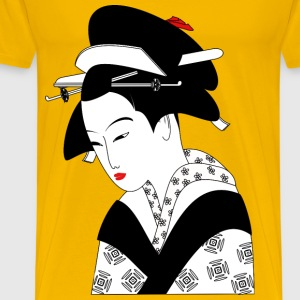 Asian Woman - Men's Premium T-Shirt