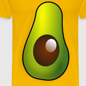 Avocado Half - Men's Premium T-Shirt