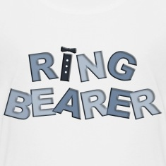 BP Letters Ring Bearer Kids' Shirts