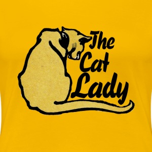 Cat Lady - Women's Premium T-Shirt
