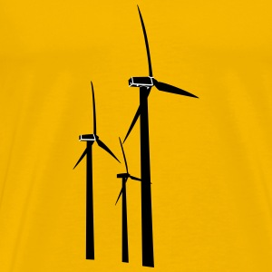 Wind Turbines - Men's Premium T-Shirt
