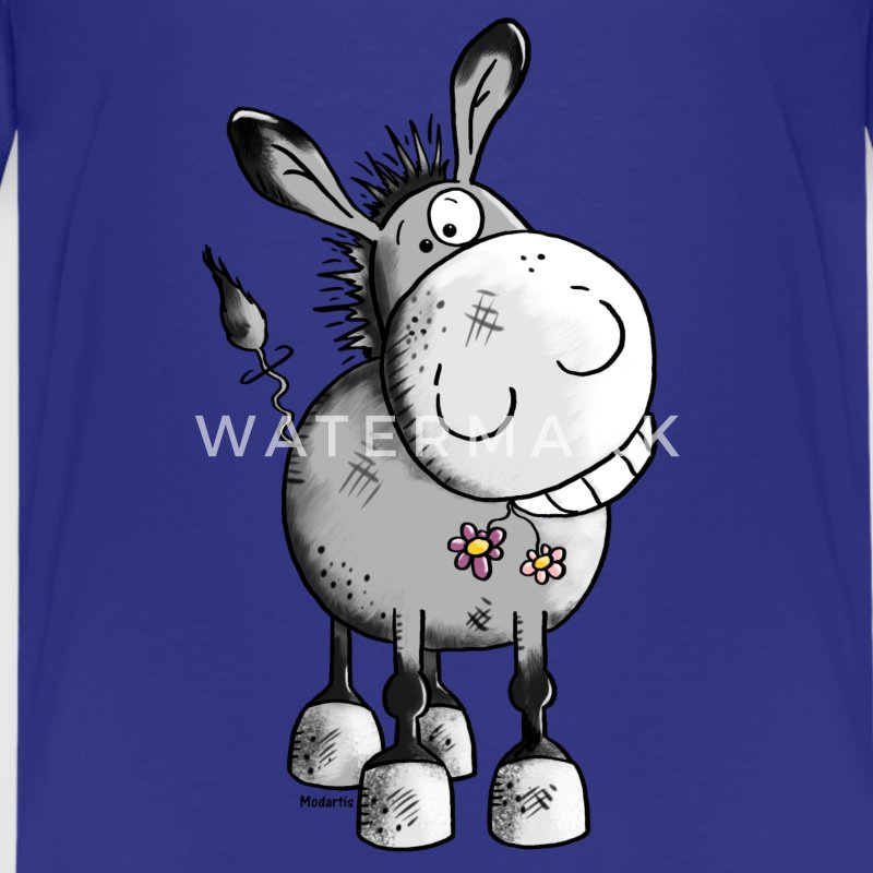 Happy Donkey - Animal Kids' Shirts - Kids' Premium T-Shirt