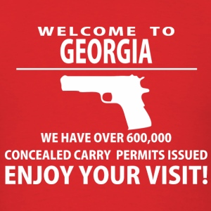 Welcome to Georgia - Men's T-Shirt
