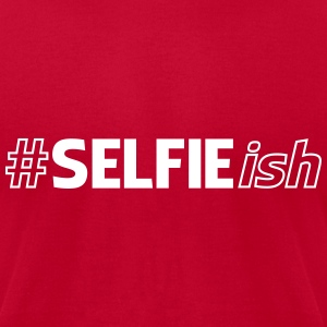 #SELFIEish (Hashtag Selfie ish) T-Shirts - Men's T-Shirt by American Apparel