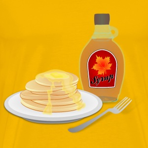 Pancakes - Men's Premium T-Shirt