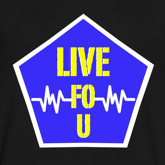 LIVE FO U T SHIRT BY RONALD RENEE