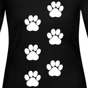 Paws, Pawprints Long Sleeve Shirts - Women's Long Sleeve Jersey T-Shirt