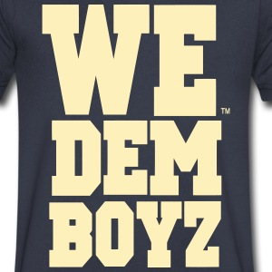 WE DEM BOYZ - Men's V-Neck T-Shirt by Canvas