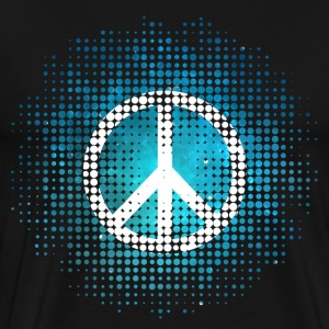 Peace Symbol Love Harmony Freedom Spring Summer Ho - Men's Premium T-Shirt