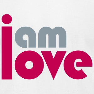 I am Love T-Shirts - Men's T-Shirt by American Apparel