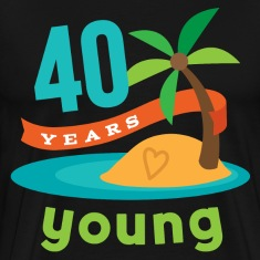 40th Birthday hawaiian T-Shirts