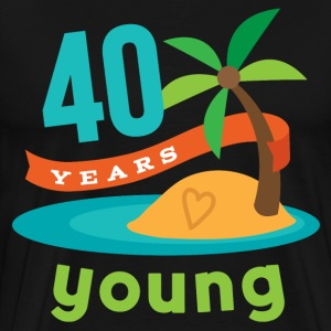 40th Birthday hawaiian T-Shirts - Men's Premium T-Shirt