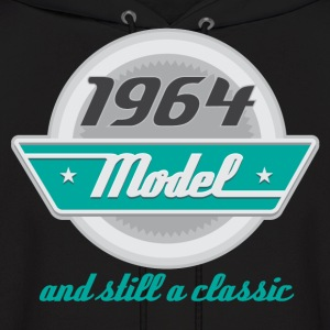 1964 Birth Year birthday Hoodies - Men's Hoodie