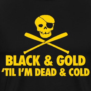 Black & Gold T-Shirts - Men's Premium T-Shirt