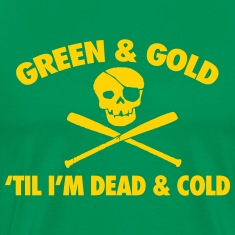 Green & Gold T-Shirts
