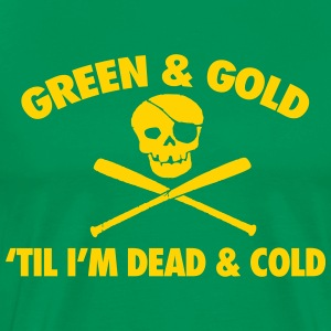 Green & Gold T-Shirts - Men's Premium T-Shirt