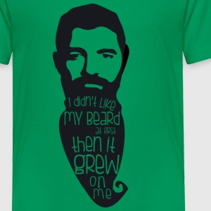 Beard Grew on me - Toddler Premium T-Shirt