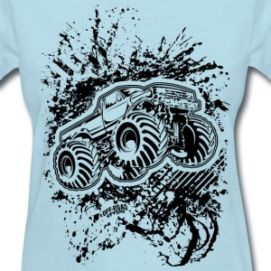 Monster Bigfoot Grunge Women's T-Shirts - Women's T-Shirt