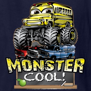 Monster Kids Bus Kids' Shirts - Kids' T-Shirt