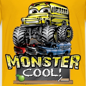 Monster Kids Bus Baby & Toddler Shirts - Toddler Premium T-Shirt