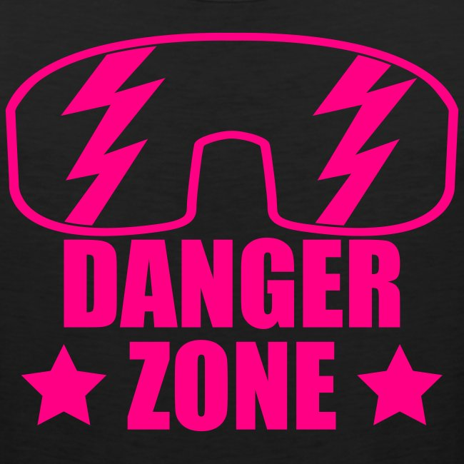 Dangerzone Tank (Neon Pink Text)