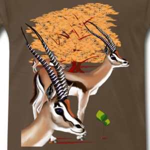 Gazelles n Tree - Men's Premium T-Shirt