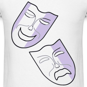 Comedy and Tragedy T-Shirts - Men's T-Shirt