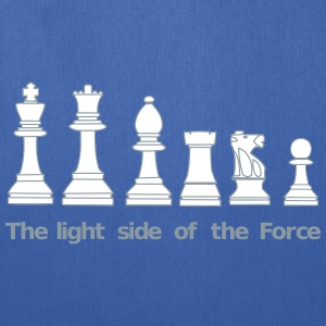 The light side of the Force, chess, pawns Bags & backpacks - Tote Bag
