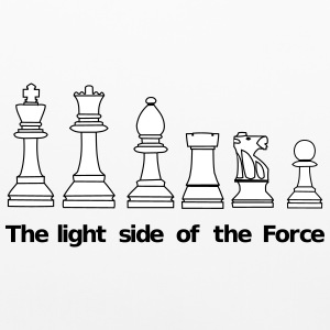 The light side of the Force, chess, pawns Other - Pillowcase