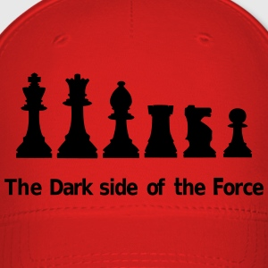 The dark side of the Force, chess, pawns Caps - Baseball Cap