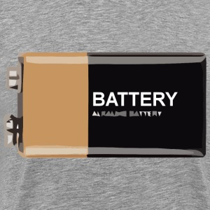 9Volt Battery - Men's Premium T-Shirt