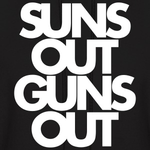 SUNS OUT GUNS OUT - Men's Hoodie
