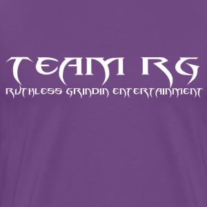 Purple TeamRG T-Shirt  - Men's Premium T-Shirt