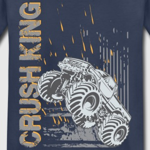 Monster Bigfoot Crush King Kids' Shirts - Kids' Premium T-Shirt