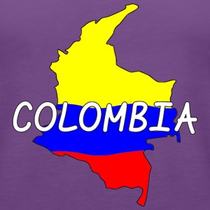 Colombia Tanks - Women's Premium Tank Top