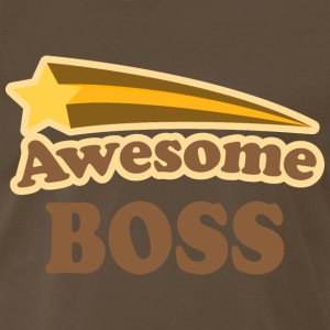 Awesome Boss vintage T-Shirts - Men's Premium T-Shirt