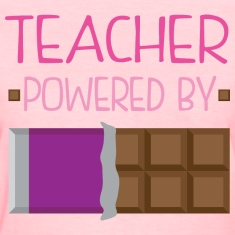 Teacher funny chocolate Women's T-Shirts