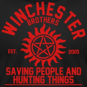 winchester brothers T-Shirts - Men's T-Shirt by American Apparel