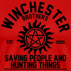 winchester brothers T-Shirts - Men's Premium T-Shirt