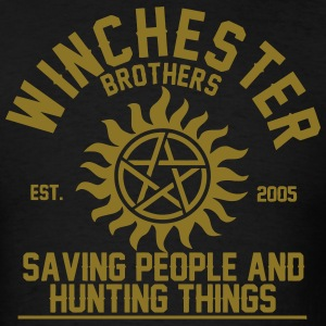 winchester brothers T-Shirts - Men's T-Shirt