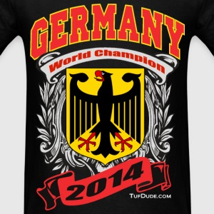 Germany 2014 Mens Black - Men's T-Shirt