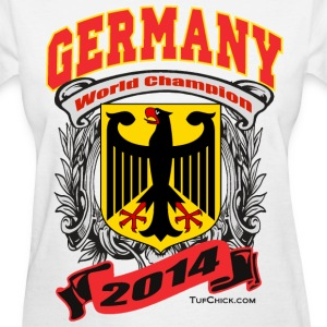 Germany 2014 Womens White - Women's T-Shirt