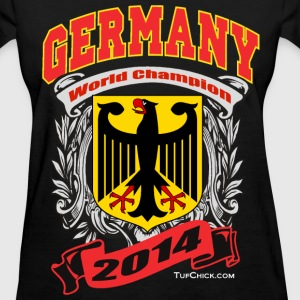 Germany 2014 Womens Black - Women's T-Shirt
