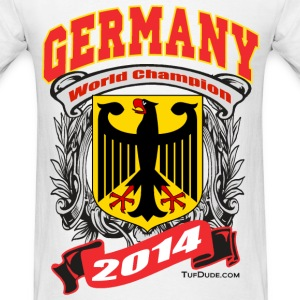 Germany 2014 Mens White - Men's T-Shirt