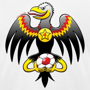 Germany's Eagle Soccer Champion T-Shirts - Men's T-Shirt by American Apparel
