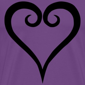 Kingdom hearts logo - Men's Premium T-Shirt